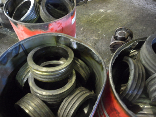 Tungsten Carbide Morgan Rolls Scrap