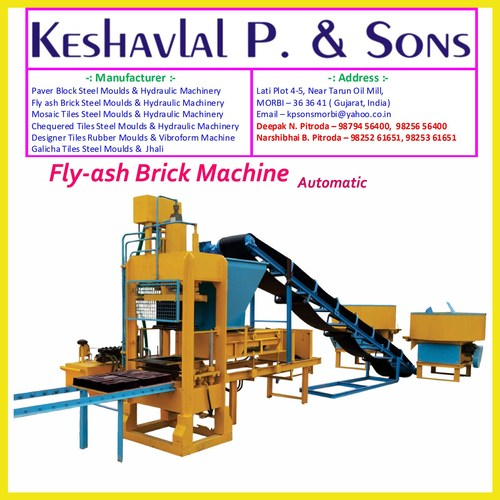 Automatic Fly Ash Bricks Plant