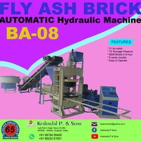 Semi Automatic Fly Ash Bricks Machine
