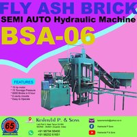 Semi Automatic Fly Ash Bricks Plant