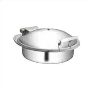 Round Hydraulic Glass Lid