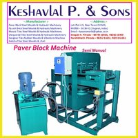 Semi Manual Paver Block Machine