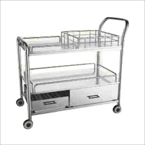 Two Tier Multi Utility Trolley