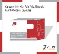 Carbonyl Iron with Folic Acid, Minerals & Anti Oxidants Capsules