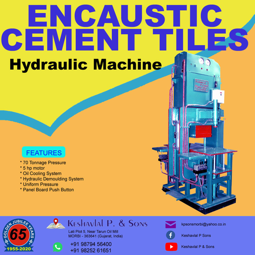 Encaustic Cement Tiles Machine