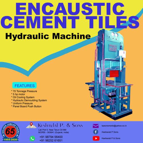 Encaustic Cement Tiles Machine