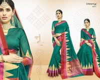 Cotton Wiving Shaded Saree