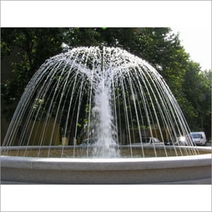 Static Water Fountain
