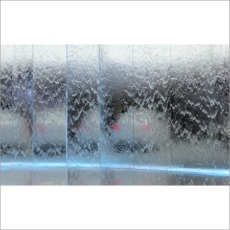Indoor Glass Waterfalls