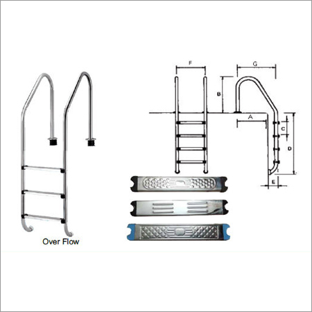 HL Series Swimming Pool Ladders