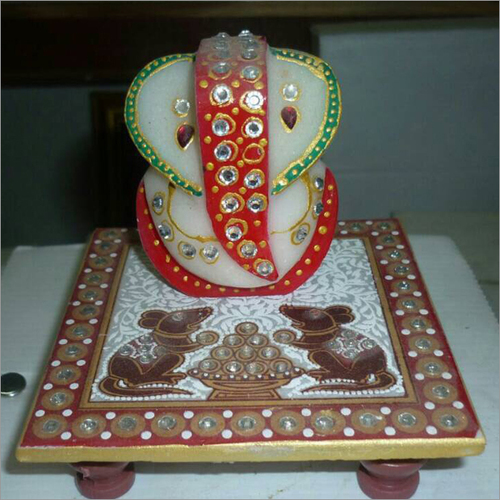 Ganesh Ji With Chowki