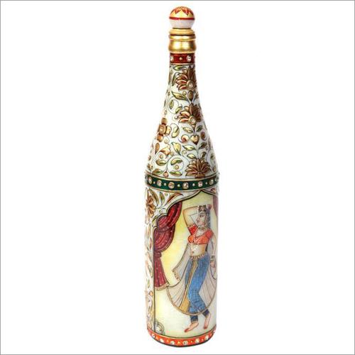 Marble Wine Bottles