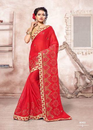 Wedding Wear Designer Saree