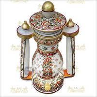 Handicraft Marble Colorful Lantern