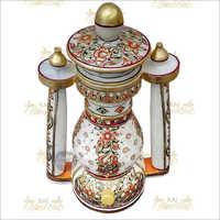 Handicraft Marble Colorful Lantern
