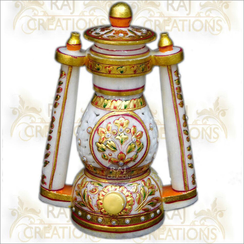 Decorative Marble Colorful Lantern