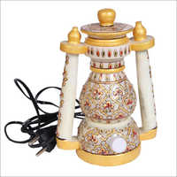 Decorative White Marble Electric Lantern