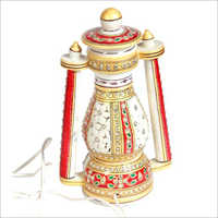 White Marble Fancy Electric Lantern