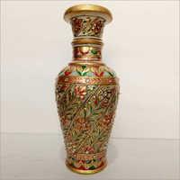 Leaf Design Marble Vase