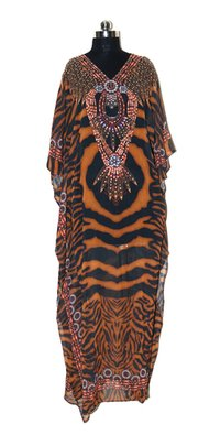 Long Kaftan Dress