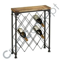 METAL NET WINE RACK