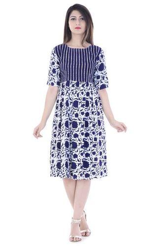 Rayon short dress