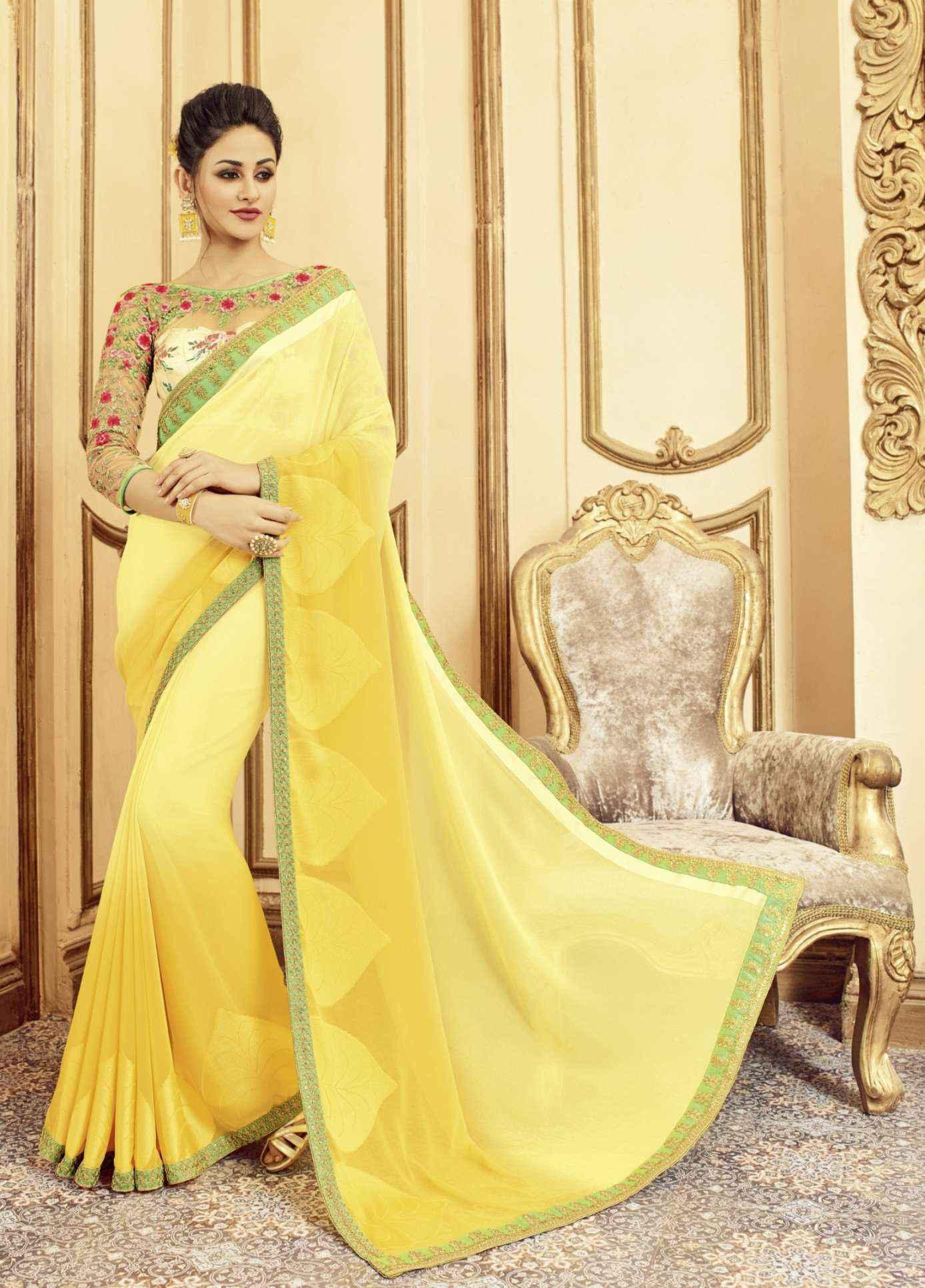 Exclusive Designer Georgette Saree