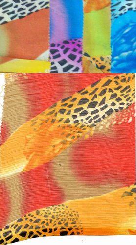 Chiffon printed scarves