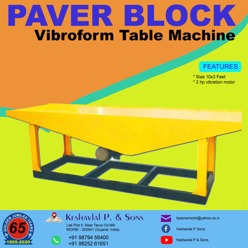 Vibrating Table