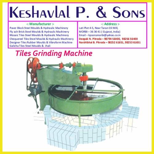 Tiles Grinding Machine