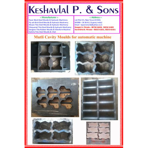 Paver Block Steel Moulds
