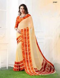 Double Shaded Daily Wear Saree