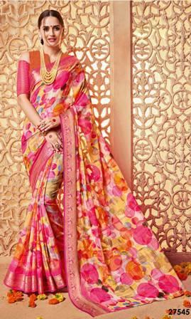 Rose Designer Party Wear Saree