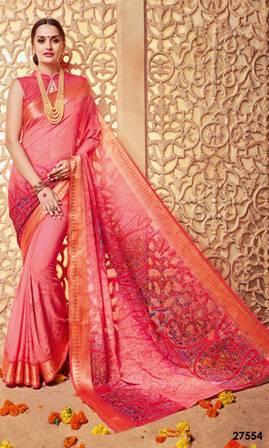 Printed New Designed Saree