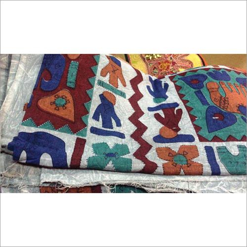Hand Painted Designer Bed Sheet