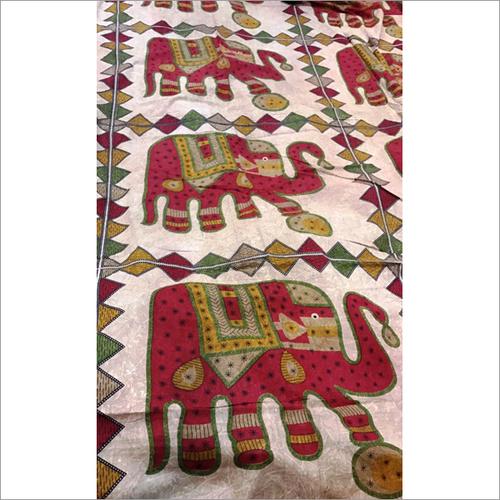 Handicraft Bed Sheets, Cushions, Cloth Material