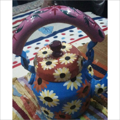 Floral Painted Kettle