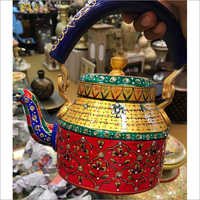 Hand Painted Decorative Kettle