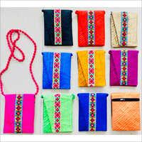 Handmade Colored Sling Bag