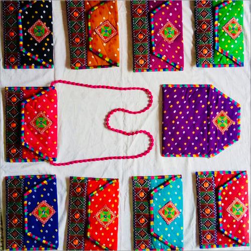 Handmade Printed Sling Bag