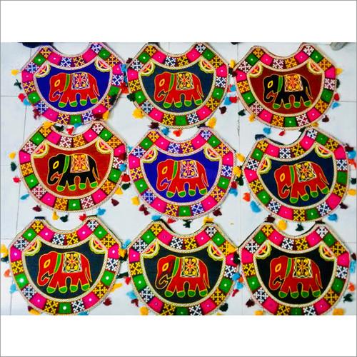 Ethnic Embroidered Tassels Shoulder Bag