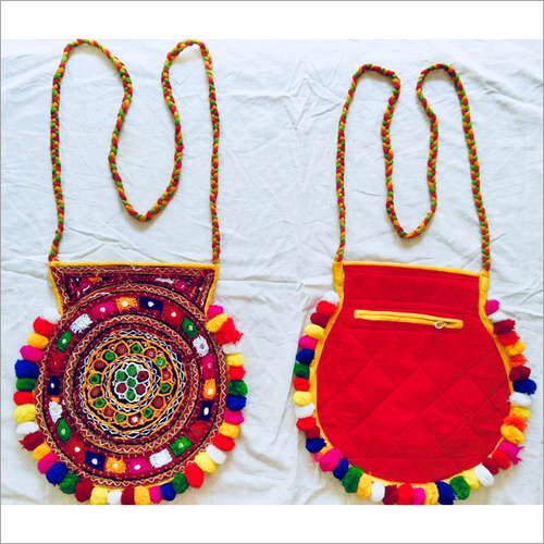 Handmade Embroidered Fancy Hand Bag