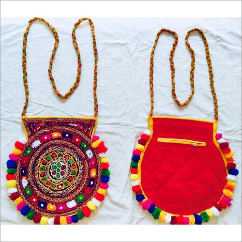 Handmade Embroidered Fancy Hand Bag