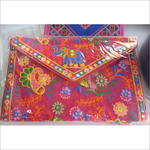 Handmade Mirror Flap Clutch Bag