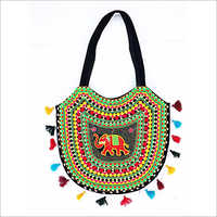 Handmade Multithread Embroidery Banjara Bag