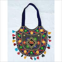 Handmade Embroidery Tassel Banjara Bag