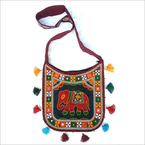 Handmade Embroidery Trendy Shoulder Bag