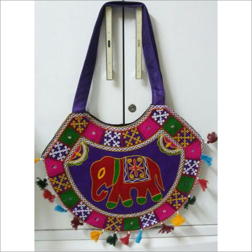Handmade Vintage Embroidery Shoulder Bag