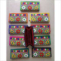 Handmade Vintage Embroidered Clutch Purse
