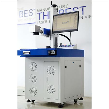 Automatic Fiber Laser Marking Machine